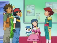 Kenny, Ash, Brock a Dawn